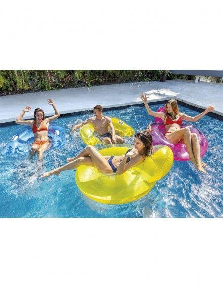 Fauteuil de piscine semi immergé Intex - 4