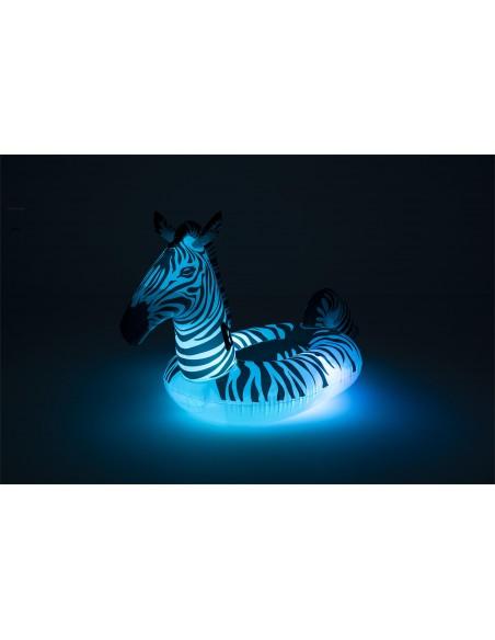 Bouée XL Zèbre avec lumière LED BestWay - 2