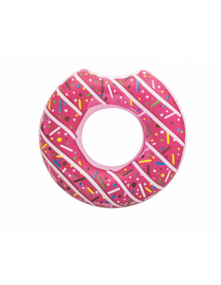 Bouée plage piscine Donuts Fraise BestWay - 1