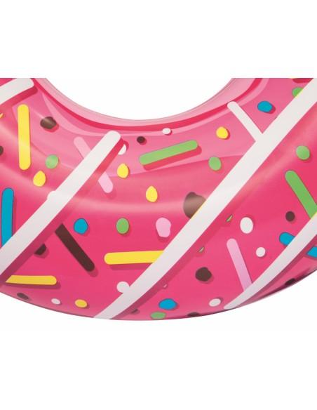 Bouée plage piscine Donuts Fraise BestWay - 3
