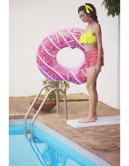 Bouée plage piscine Donuts Fraise BestWay - 6