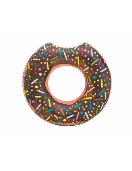 Bouée plage piscine Donuts Chocolat BestWay - 1