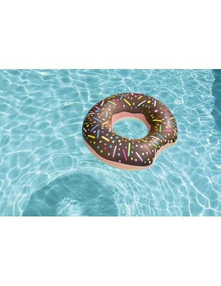 Bouée plage piscine Donuts Chocolat BestWay - 4