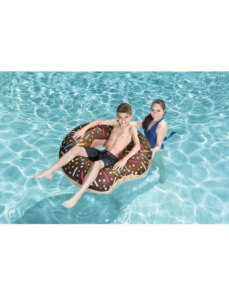 Bouée plage piscine Donuts Chocolat BestWay - 5
