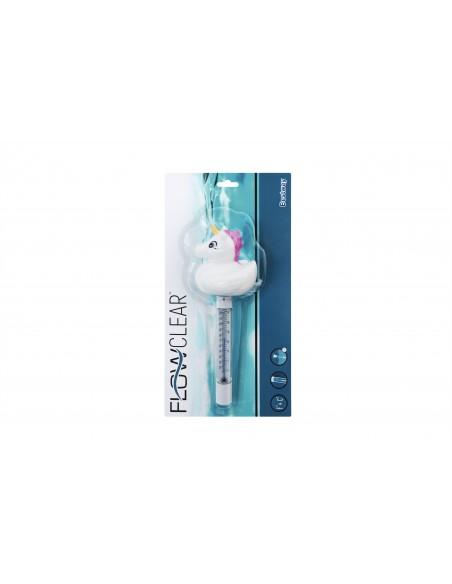 Thermomètres de piscine assortis flamant rose et licorne BestWay - 5